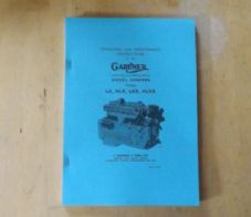 Gardner.Diesel engines. LX,HLX,LXB,HLXB.Operating and maintenance manual.